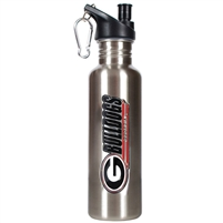Georgia Bulldogs 26oz Stainless Steel Water Bottle