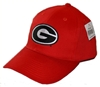 UGA Super G Design Red Baseball Hat
