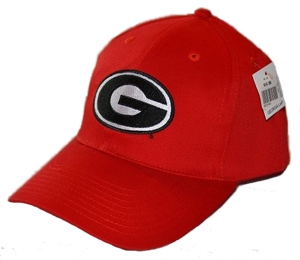 UGA Super G Design Red Baseball Hat  e69e0a9bcf8
