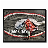 Georgia Bulldogs Game Day Poster