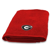 Georgia Bulldogs Bath Towel