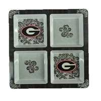 Georgia Melamine 4 Section Tray