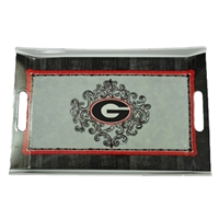 Georgia Melamine Rectangular Tray