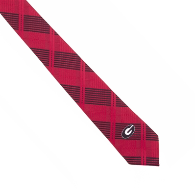 Georgia Skinny Plaid Tie