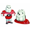 Georgia Bulldogs 2 Piece Ceramic Ornament Set