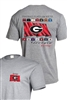 UGA Football Flags of the South T-Shirt