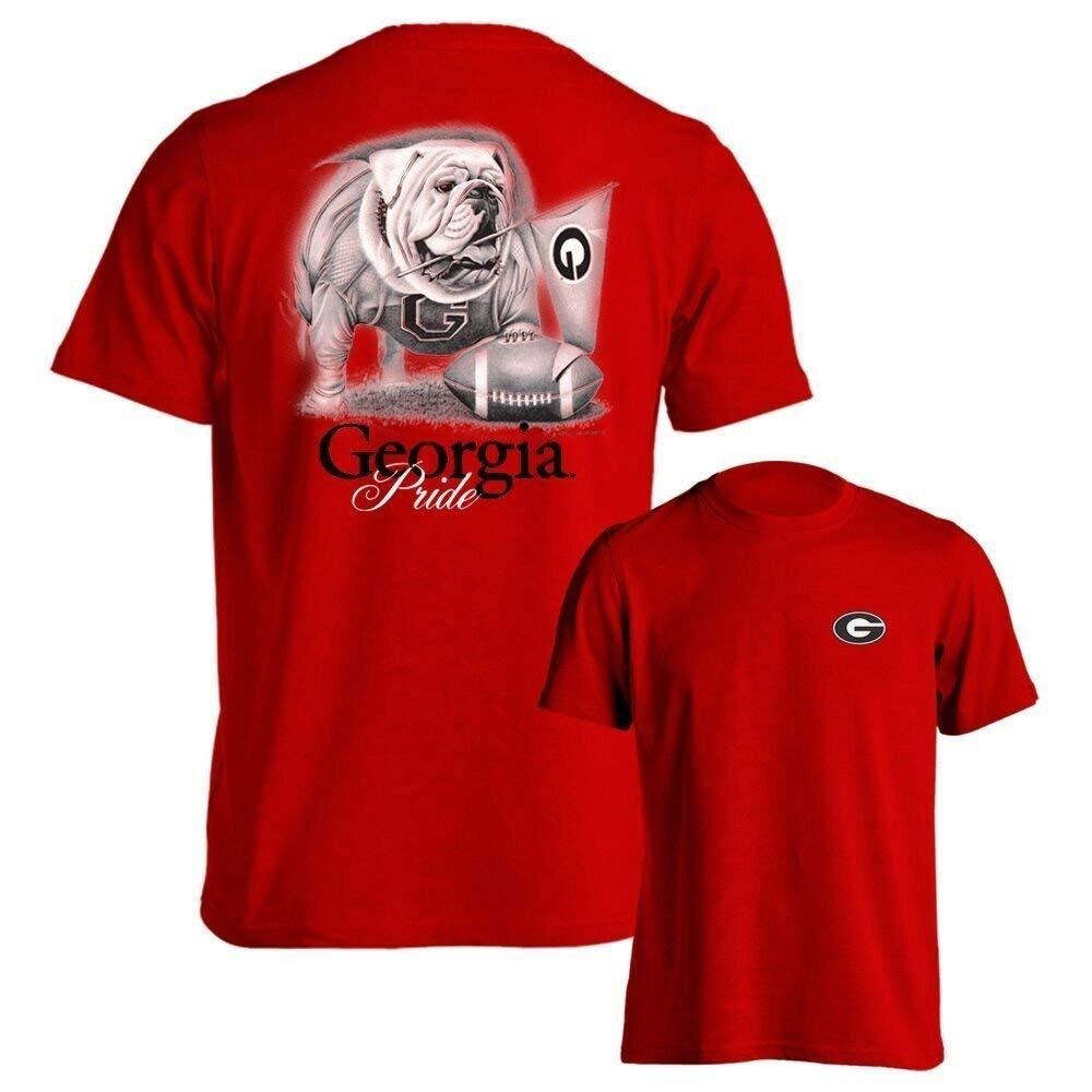 0f6005742a1b UGA Women's Apparel   UGA Ladies T-Shirt   Georgia Bulldogs Ladies ...