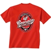 Georgia Bulldogs Oval Label T-Shirt