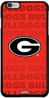 Georgia Bulldogs Repeating iPhone 6 Plus Thinshield Snap-On Case