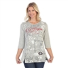 Georgia Bulldogs Script Print Shirt