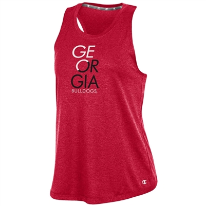 Georgia Bulldogs Women's Epic Traverse Tank