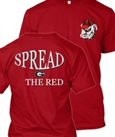 UGA Spread the Red T-Shirt