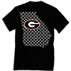 Georgia Black Quatrefoil T-Shirt