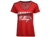 Georgia Bulldogs Women's PowerPlay T-Shirt