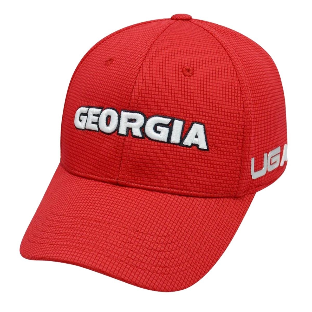557ca5896f8 Georgia Bulldogs Sonic Weld UGA Caliber One Fit Hat
