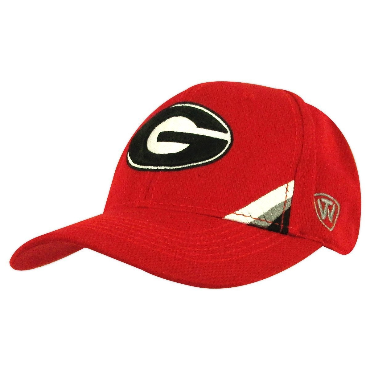 08f17d9b247 Georgia Bulldogs Wedge Red One-Fit Hat