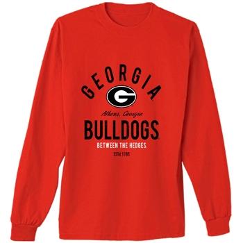 7e1128bfb400e UGA Women's Apparel   UGA Ladies T-Shirt   Georgia Bulldogs Ladies ...