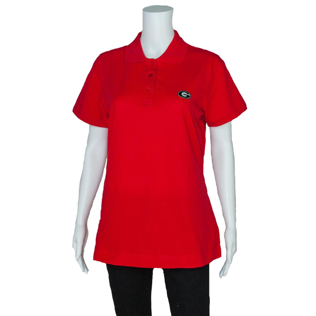Georgia Ladies Polo Shirt Uga Ladies Polo Shirt Georgia Bulldogs